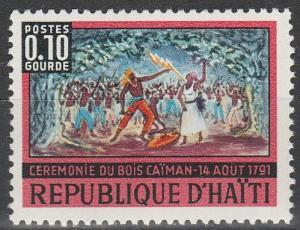 Haiti #581    MNH  (S9947)