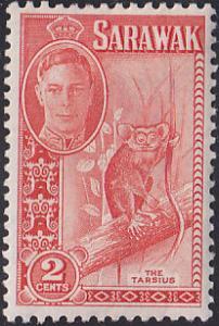 Sarawak 181 Western Tarsier 1950