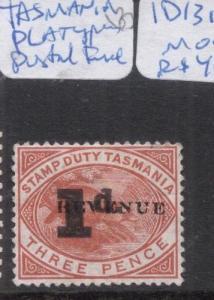Tasmania Platypus Postal Fiscal 1d/3d MOG (5dgw)