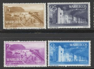 Morocco Northern Zone 1956 Sultan Mohammed set Sc# 1-8 NH