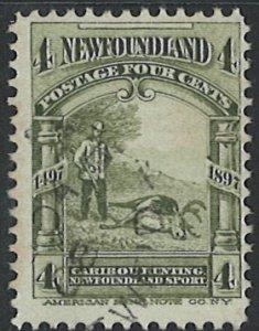 Newfoundland Scott 64 Used!