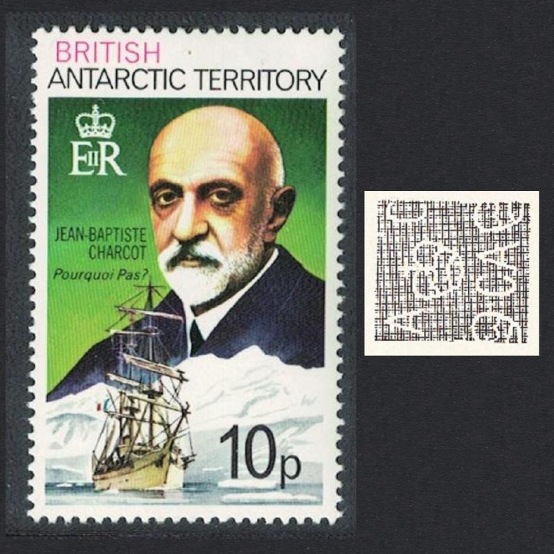 BAT Polar Explorer Jean-Baptiste Charcot and 'Pourquoi Pas?' 10p SG#54