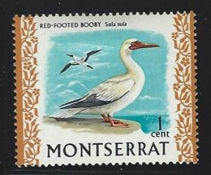 Montserrat  mint hinged SC  231