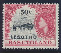 Lesotho / Basutoland  Opt  SG 119A Mint Hinged