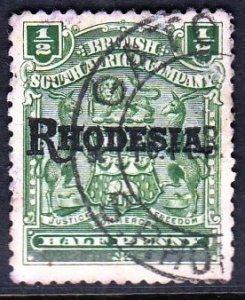 Rhodesia, As per scan ,VFU