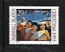 MARSHALL ISLANDS, 576, MNH, CHRISTMAS 1993