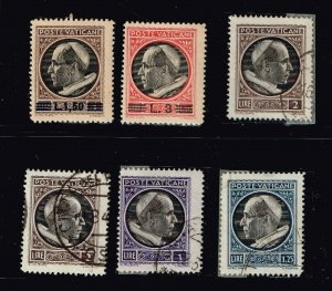 ITALY STAMP VATICAN MINT AND USED STAMP COLLECTION LOT #L1