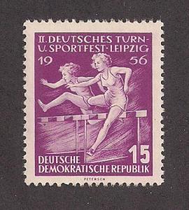 GERMANY - DDR SC# 299 F-VF MNH 1956