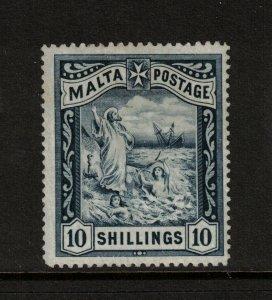 Malta #18 Mint Fine+ Very Lightly Hinged