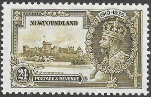 Newfoundland Scott Number 229 VF H