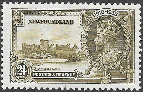 Newfoundland Scott Number 229 VF H