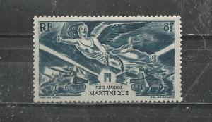 Martinique Scott catalogue # C3 Unused Hinged