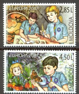 Moldova Sc# 556-557 MNH 2007 Europa