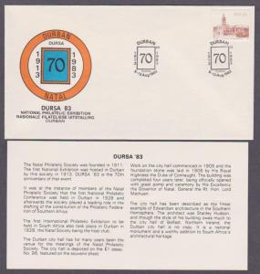 RSA # 576 on National Philatelic Exhibition Anniversary Cover - I Combine S/H