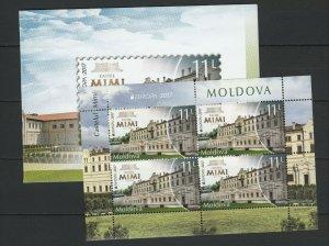Moldova 2017 CEPT Europa Castles MNH Booklet