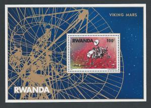 Rwanda #827 NH Viking Mars Mission SS