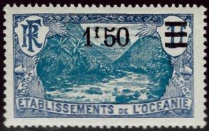 French Polynesia Sc #68 Mint VF...Polynesia is Unique!