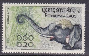 Laos # 42, Elephants  Mint NH, 1/2 Cat.