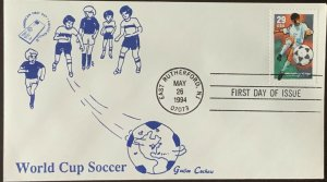AFDCS Geegee Cachet 2834 World Cup Soccer East Rutherford, NJ