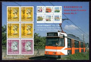 Hong Kong 650a Souvenir Sheet MNH VF