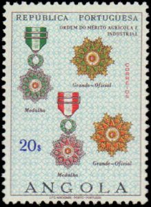 Angola #532-540, Complete Set(10), 1967, Military Related, Hinged