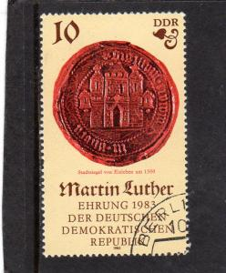 Germany DDR 1982 Martin Luther  used