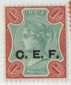 India Abroad CEF QV 1900 SG C10 1RS