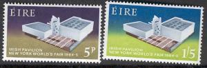 IRELAND 194-5 MNH IRISH PAVILION, NEW YORK WORLD FAIR 1964