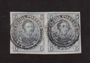 Canada #2 XF Used Gem Pair **With Certificates**
