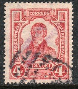 MEXICO-Monterrey 426VAR TII, 4¢ GOB.. REV PROV OVPT CONSTIT.. USED VF (1017)