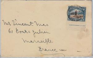 TRINIDAD & TOBAGO postal history - SG 233A on COVER to FRANCE 1938