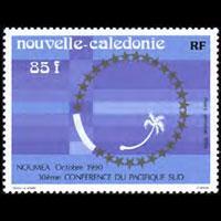 NEW CALEDONIA 1990 - Scott# C222 SPC 30th. Set of 1 NH