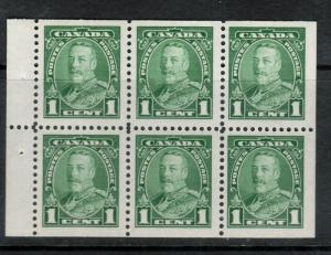 Canada #217b Very Fine Never Hinged Booklet Pane