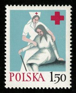 Red Cross, POLSKA, 1.50ZL, MNH, ** (RT-462)