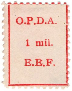 (I.B) Palestine Revenue : Ottoman Public Debt 1m (inverted watermark)
