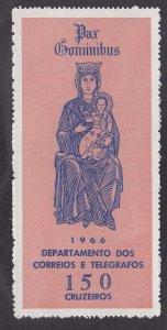Brazil # 1031a, Madonna & Child, Large Stamp, Mint NH, 1/2 Cat