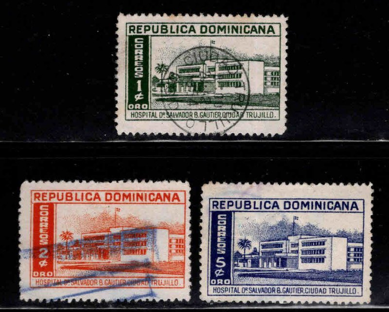 Dominican Republic Scott 447-449 Used  stamps