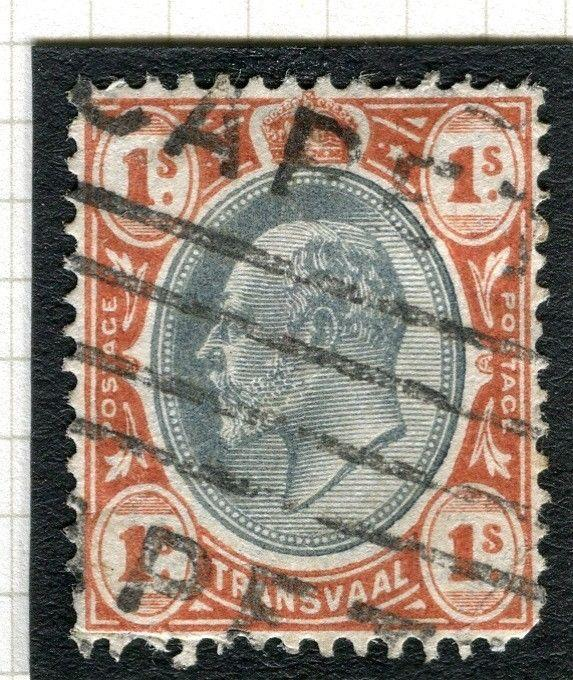 TRANSVAAL Interprovincial Period Ed VII CAPE TOWN Parcel Postmark on 1s.