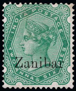 Zanzibar Scott 7b Gibbons 8k Mint Stamp