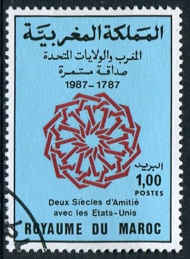 MOROCCO 1987 - 1d USED