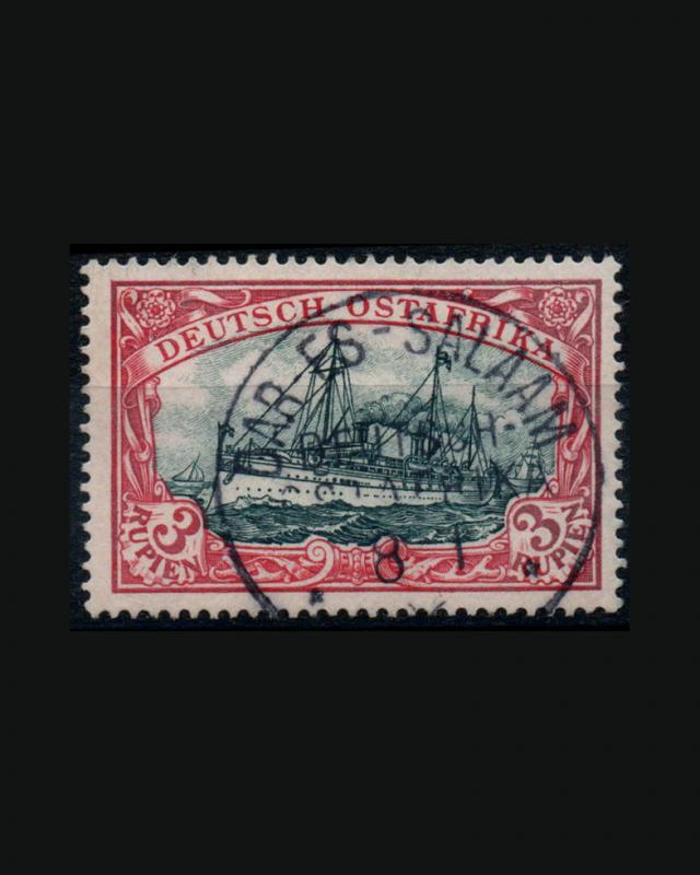 VINTAGE: GERMAN E AFRICA 1900 USD BH SCOTT # 21 $400 SCOTT  EST  LOT #1916X448