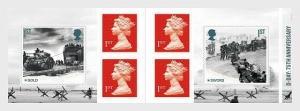 H01 Grossbritannien 2019  D-Day Retail SB - Stamp Booklet