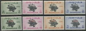 BAHAWALPUR (INDIA) - UPU:  1949 MNH Set; Sc 26-29, O25-28