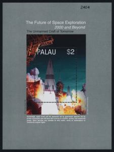 Palau 549-52 MNH Future Space Craft