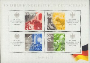 1999 Germany #2042, Complete Set, Never Hinged
