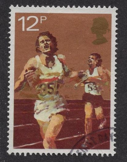 Great Britain  #924  used  1980  sport 12 p  running