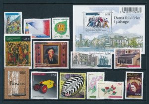 French Andorra 2011 Complete year set  MNH