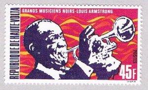 Burkina Faso 270 MLH Louis Armstrong 1972 (BP50014)