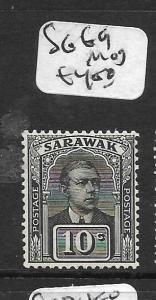 SARAWAK  (PP2803B)  10C   SG 69   MOG