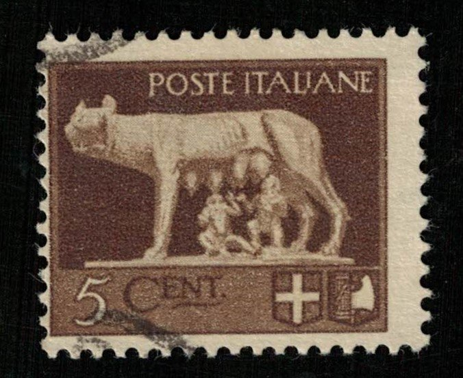 1929, Italy, 5c, YT #224 (RT-383)